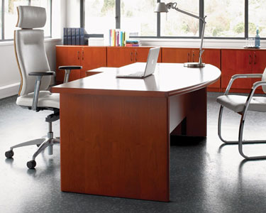 Bow Fronted Executive Manager Desk Total Office Furniture